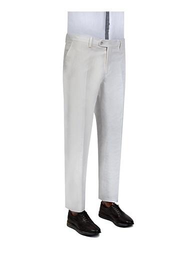 D'S Damat Klasik Pantolon Beyaz